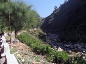 The Starting Point of Shiv Khori Pilgrimage Trek